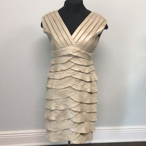 Beautiful Soft Gold Formal Dress